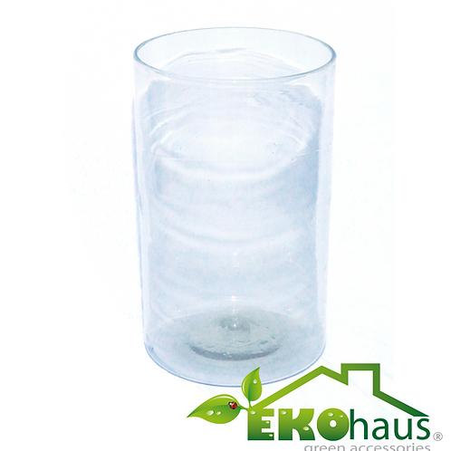Gran cilindro transparente