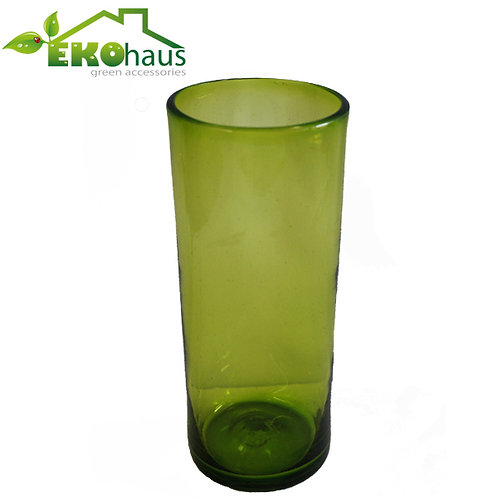 Jarron tubo verde