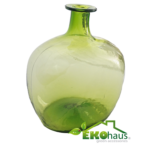 Botella verde claro
