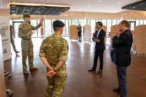 £200-Million Announced for vital improvements to troops' accommodation