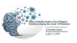 State of Mental Health of the Philippine