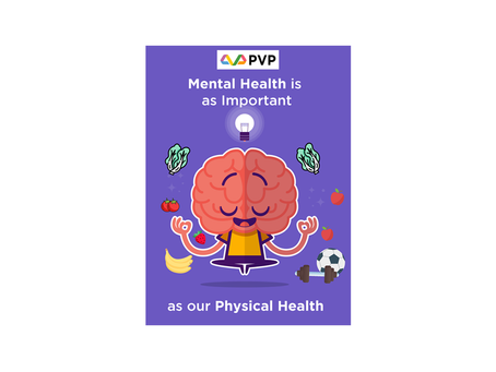 Mental Health is as Important as our Physical Health
