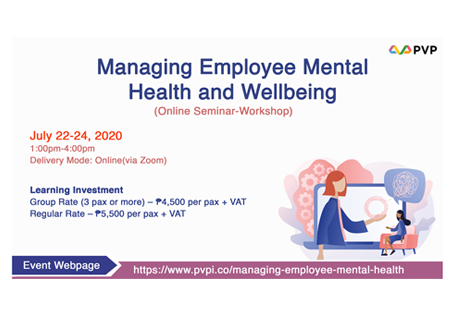 Managing Employee Mental Health and Well-being