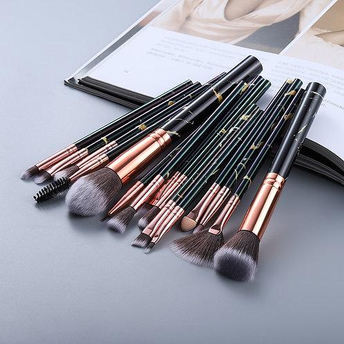 15Pcs Makeup Brushes Tool Set Cosmetic Powder Eye Shadow Foundation