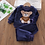 Thumbnail: Winter Flannel Pajamas Newborn Clothes Baby Boy Clothes Set for Girls Clothing