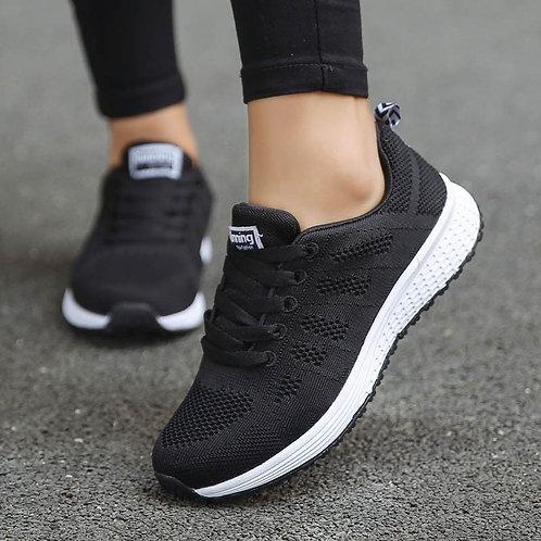 Shoes Woman Sneakers Casual Platform Trainers Women Shoe White Tenis Feminino