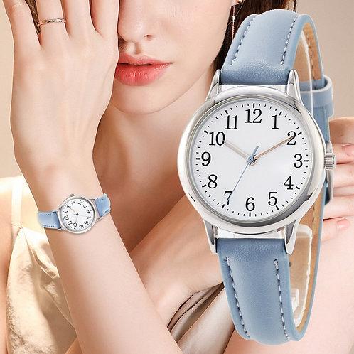 Women Quartz Watch Candy Color Simple Dial