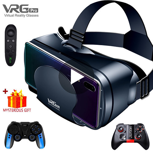 Virtual Reality 3D VR Headset  complet