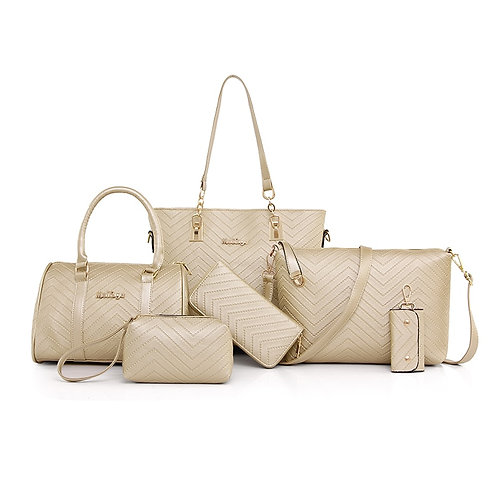 6 Pcs/Set  Bags Women Shoulder Crossbody Bags for Women