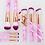 Thumbnail: 15Pcs Makeup Brushes Tool Set Cosmetic Powder Eye Shadow Foundation