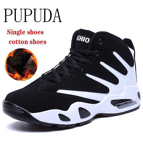 Winter Shoes Men Comfy Autumn Sneakers Men Boots Fashion Basketball