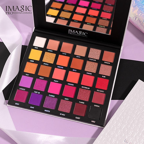 30 Color Eye Shadow Palette Matte Pearlescent Polarized Long-Lasting Eye