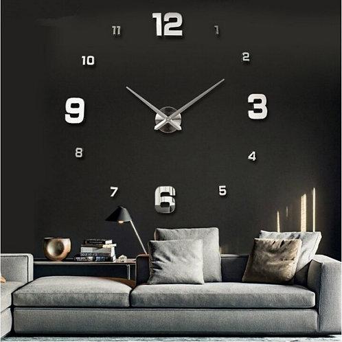 Large Wall Clock Watch 3d Wall Clocks