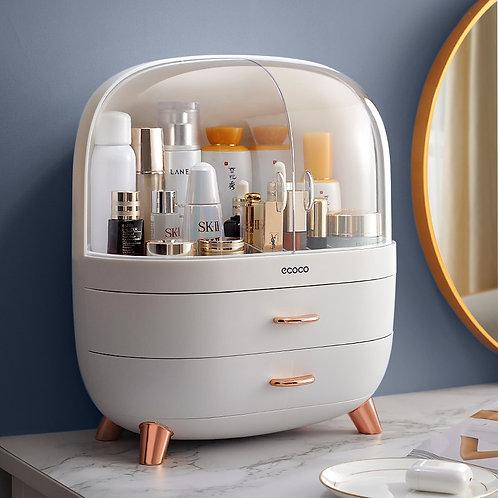 Cosmetic Storage Box Makeup Drawer Organizer Jewelry Nail Polish Makeups