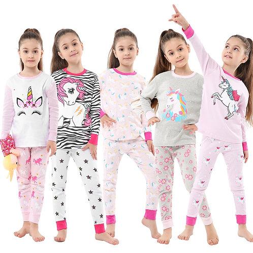 Children Sleepwear Baby Nightwear Pyjamas Kids Homewear Nightwear set