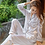 Thumbnail: Women's Faux Silk Satin Pajamas Set Sleepwear Nightwear Long Sleeve Pajamas Set
