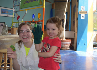 Science Girl Inspires at the Grand Reopening of the Santa Fe Children's Museum