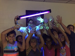 Glowing Science at Outreach
