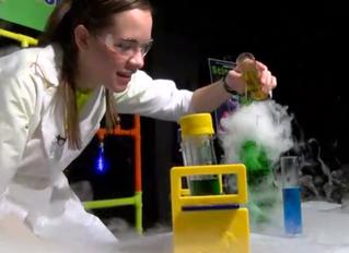 Science Girl on News 13