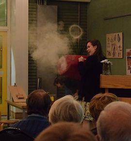 Smoke Ring Speech at Ribbon Cutting Event