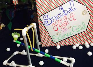 Snowball Flight at Explora Dec. 3rd!