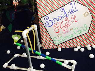 Snowball Flight at Explora Dec. 3rd!