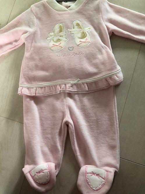 Ballet 2 piece pyjama set