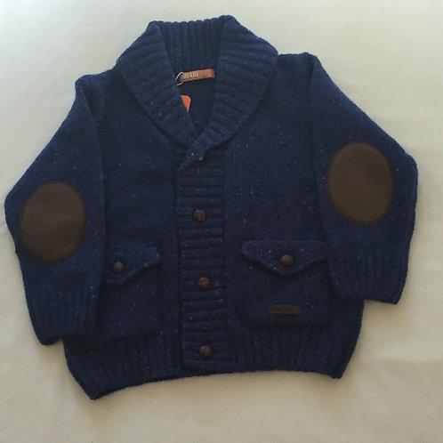 Chunky boy's cardigan with pockets