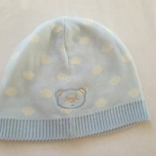 Spotted teddy bear hat