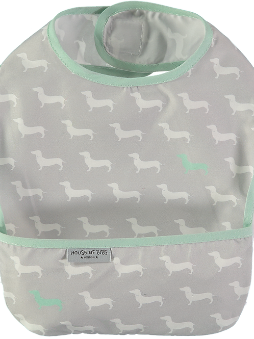 House of Bibs Aqua Dog Bib