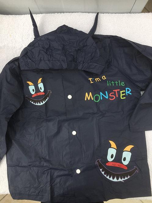 Lightweight monster raincoat