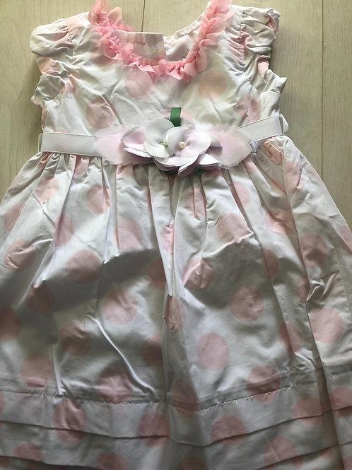 Floral spotty dress