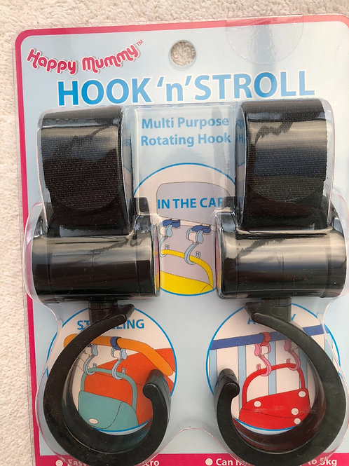 Hook 'n' Stroll buggy hooks