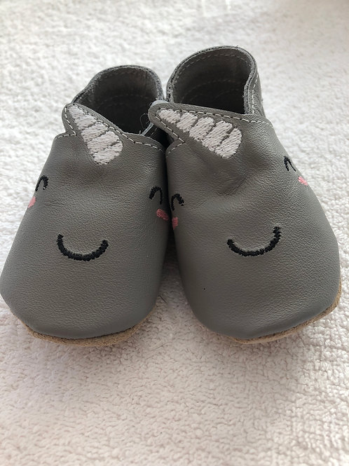 Born Bespoke Narwhal leather shoes