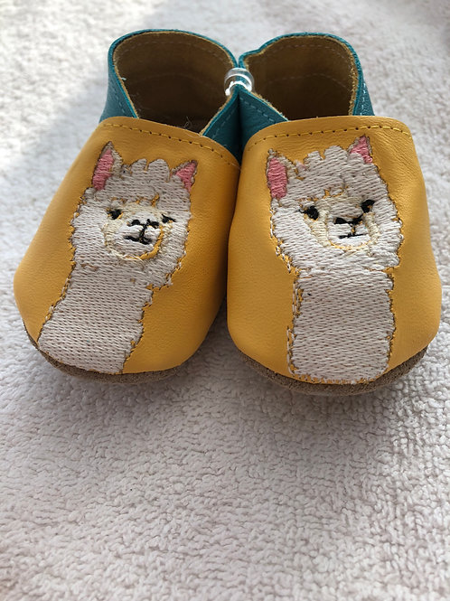 Born Bespoke Alpaca leather baby shoes