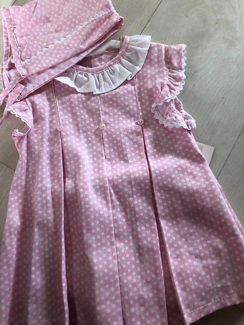 Baby girl's pink summer dress 18m
