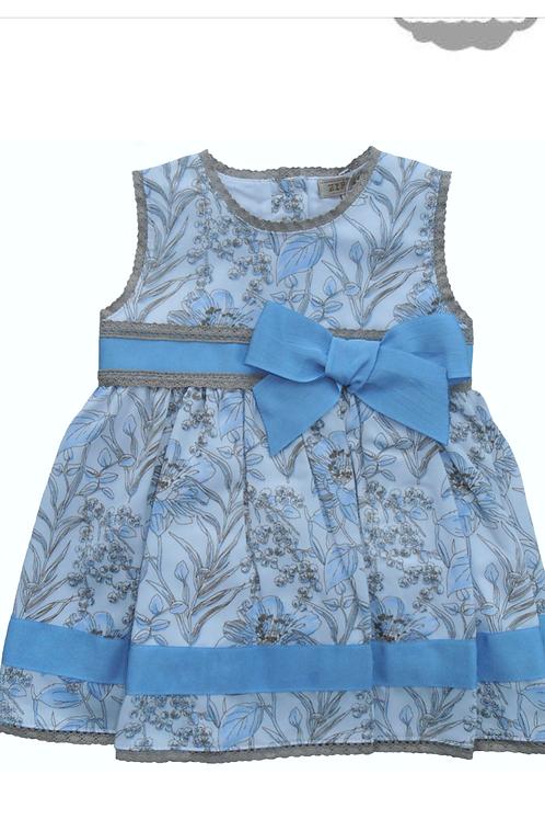 Alber blue dress