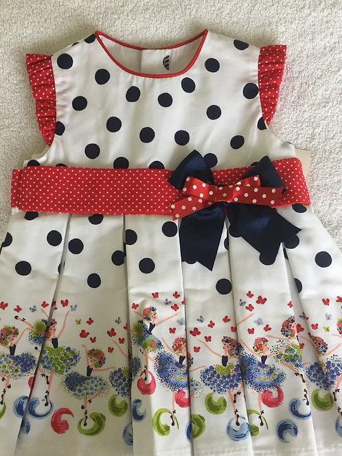 Spotty ballerina dress