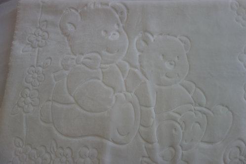White bear blanket