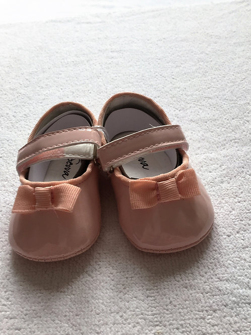 Baby pink patent shoes