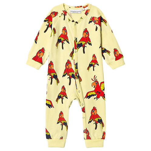 Tao and Friends parrot sleepsuit