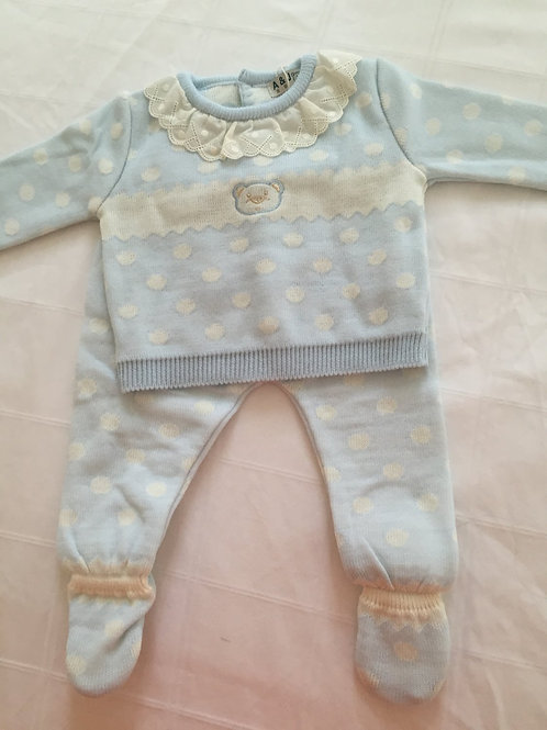Teddy bear top and trouser set