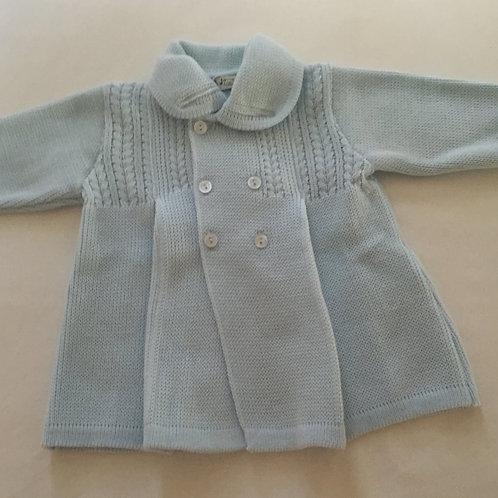 Hooded fleece lined cardigan