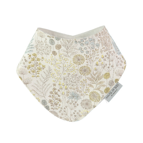 Dribble Bib - antique flora
