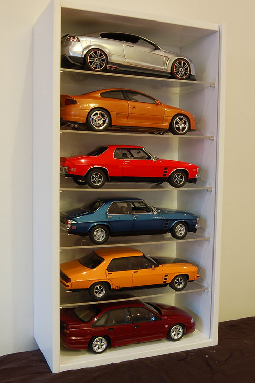 1:18 Scale (6 Cars Display)