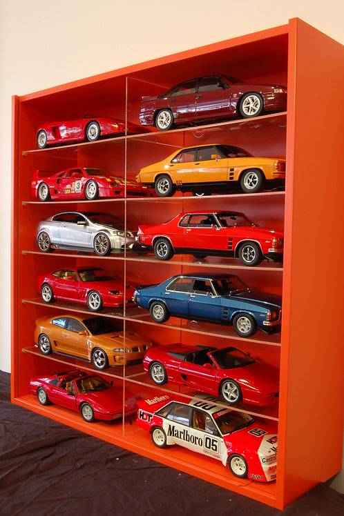 1:18 Scale (12 Cars Display)