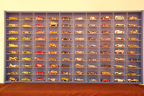 1:64 Scale (100 Cars Display)