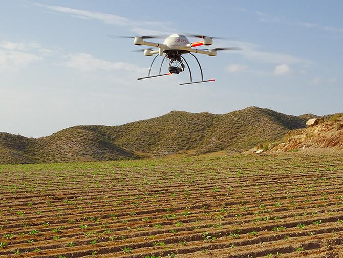 Uso de drones para determinación a tiempo real de variables ambientales