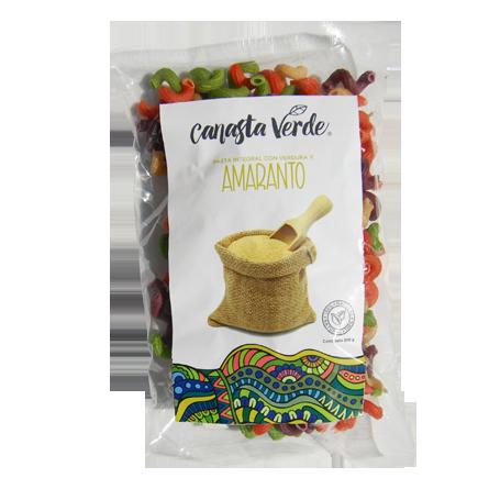 Pasta de Verduras y Amaranto