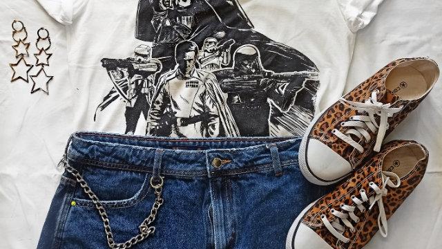 Look Star Wars ( LEIA A DESCRIÇÃO)